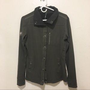 Kuhl Women's Olive Green Military Jacket Medium